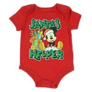 Other - Disney Mickey Mouse SANTA'S Little HELPER Christma